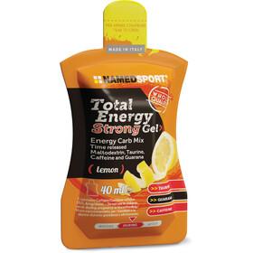 NAMEDSPORT Total Energy Strong Caja de Geles 24 x 40ml, Lemon